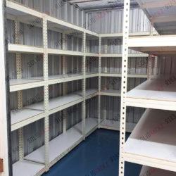 Storeroom rack, boltless rack, storage rack for office or warehouse
